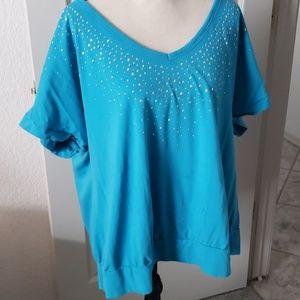 Turquoise Bling Shirt